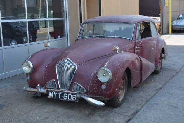 Rather Rare: 1954 Healey Tickford