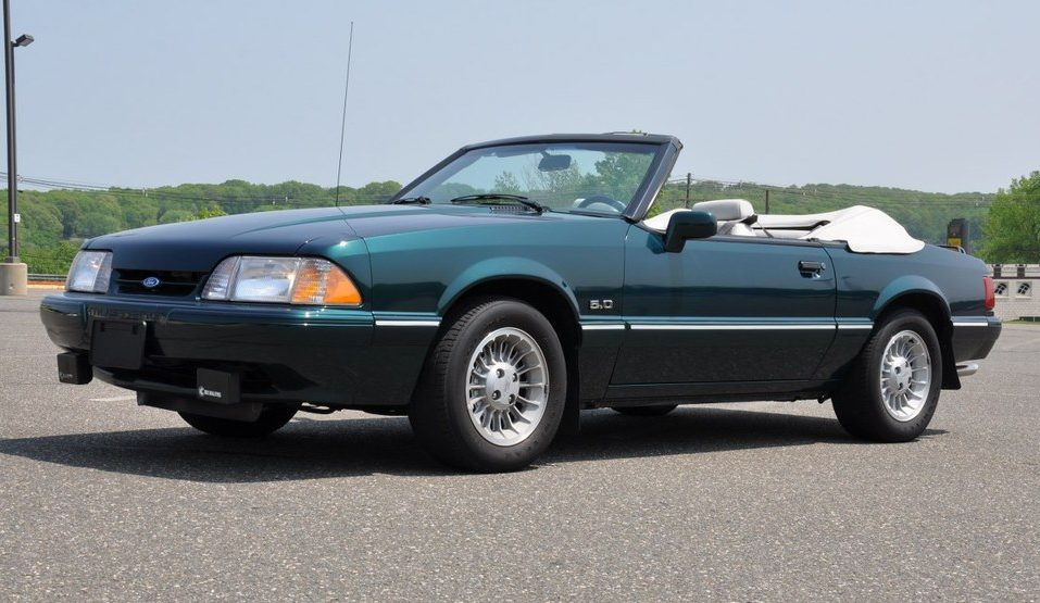 Soda Pop Special 1990 Mustang 7up Edition
