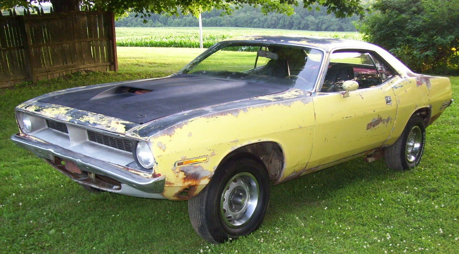 Old Muscle Car Project Cars For Sale