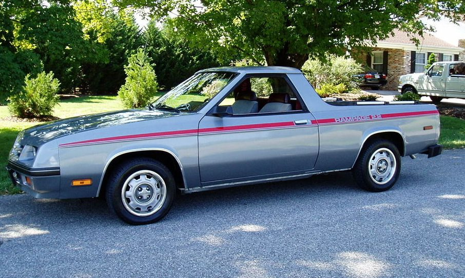 2016 Dodge Rampage >> Rarely This Nice: 1984 Dodge Rampage