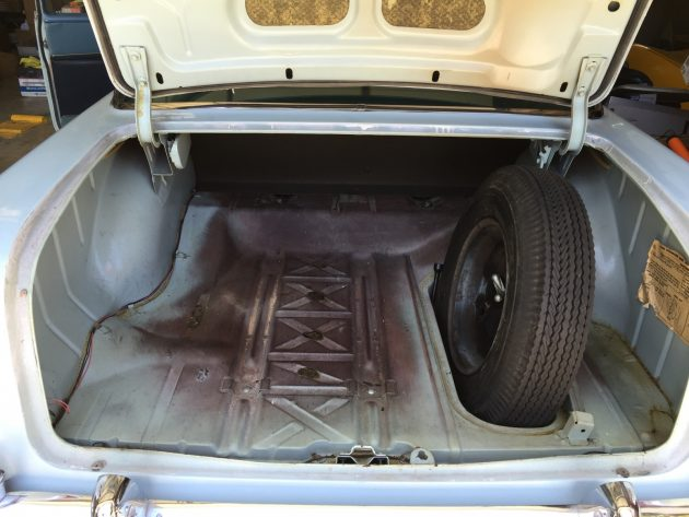 Questionable Survivor 1955 Chevrolet Bel Air