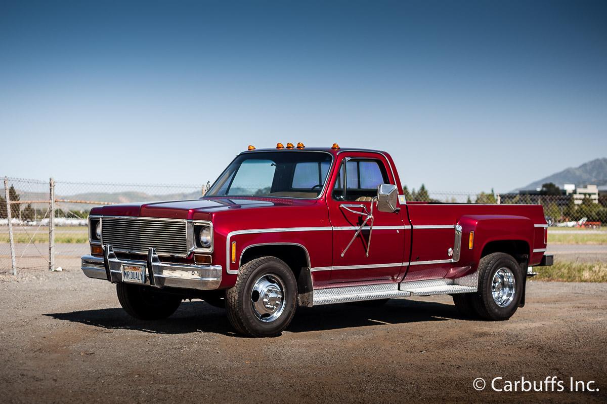 Gmc Camper >> $3,950! 1975 Chevrolet C30 Silverado Camper Special