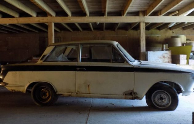 Needs a Twin Cam: 1966 Cortina GT