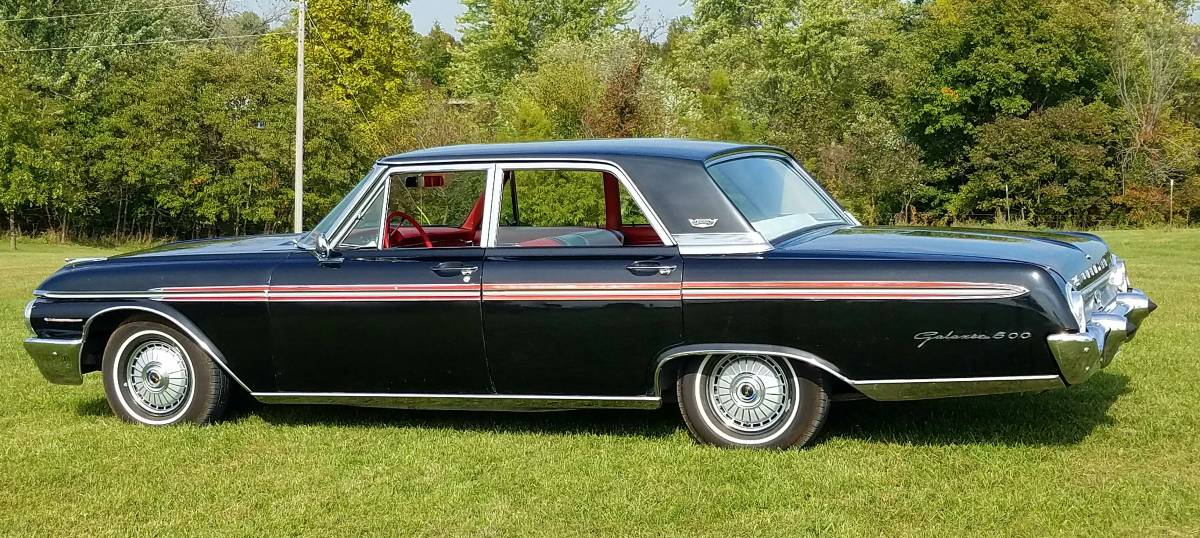 This Is One Stellar Galaxie 1962 Ford Sedan