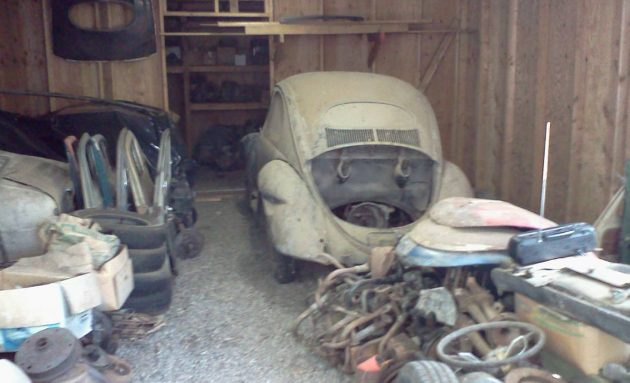 Shed Stored 27 Years: 1955 Beetle