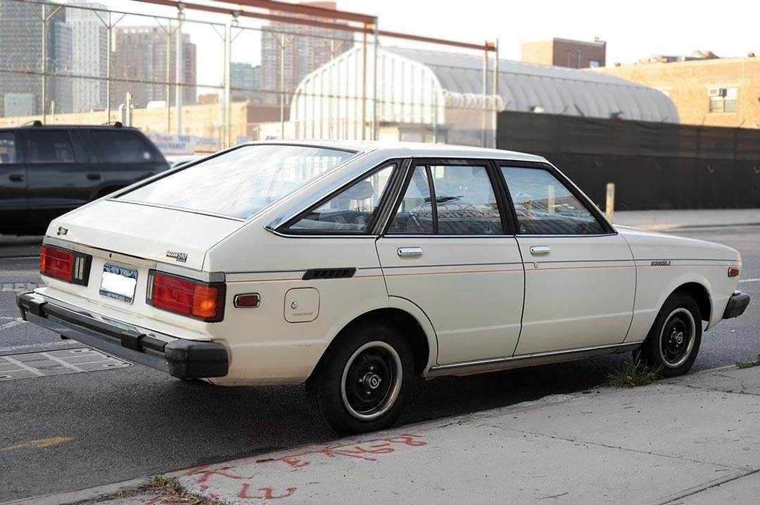 $4,000 W/ 5-Speed & AC: 1980 Datsun 510 Hatchback