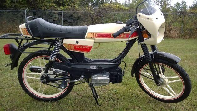 Mini-Manly Moped: 1981 Puch Magnum MK II LTD