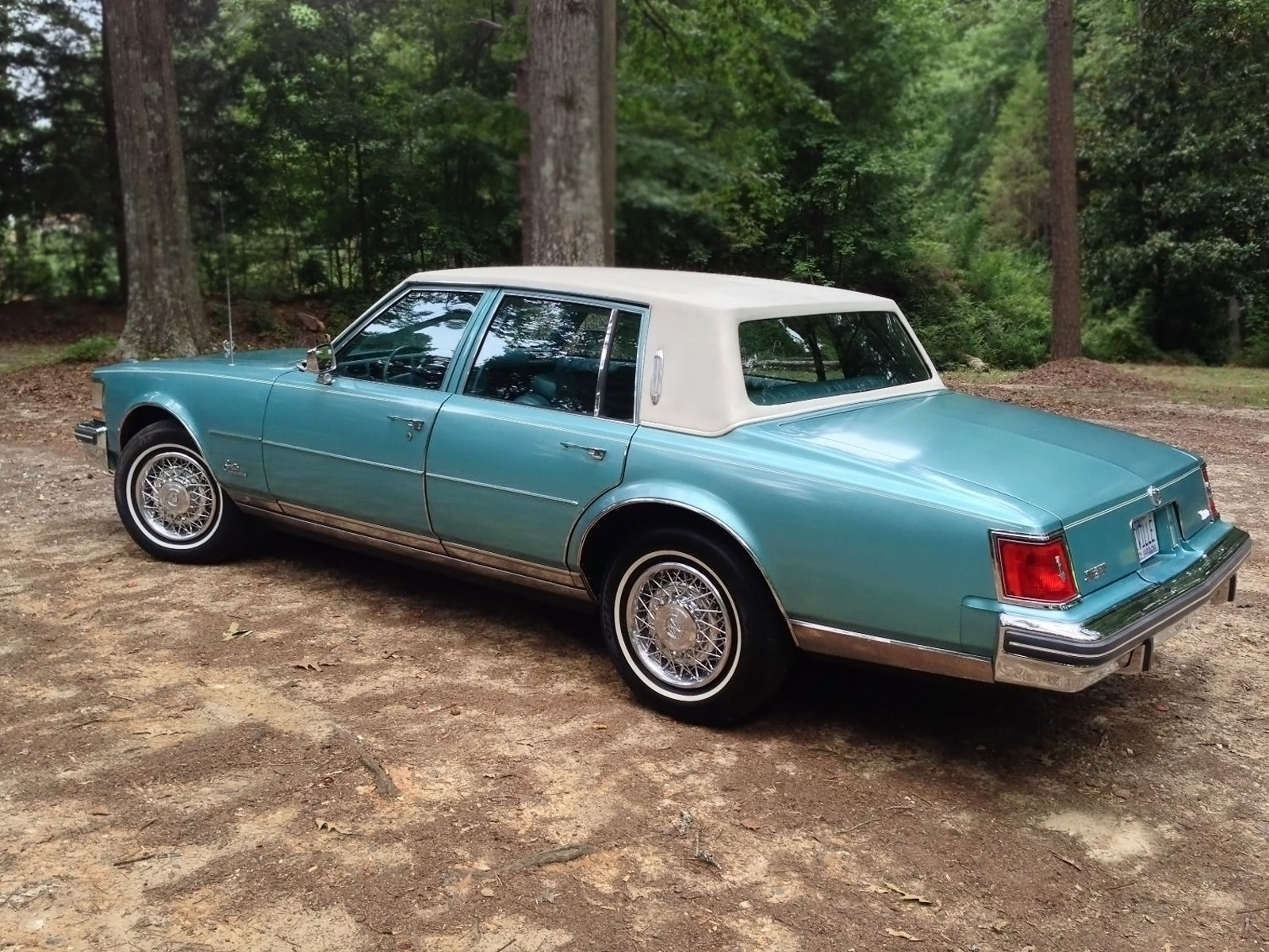 Time Capsule Cadillac 1979 Seville 1978 Deville Interior 100516 Barn Finds 2