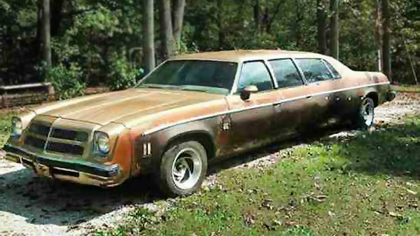 Just why? 1975 Chevrolet El Camino Limo [via BarnFinds]