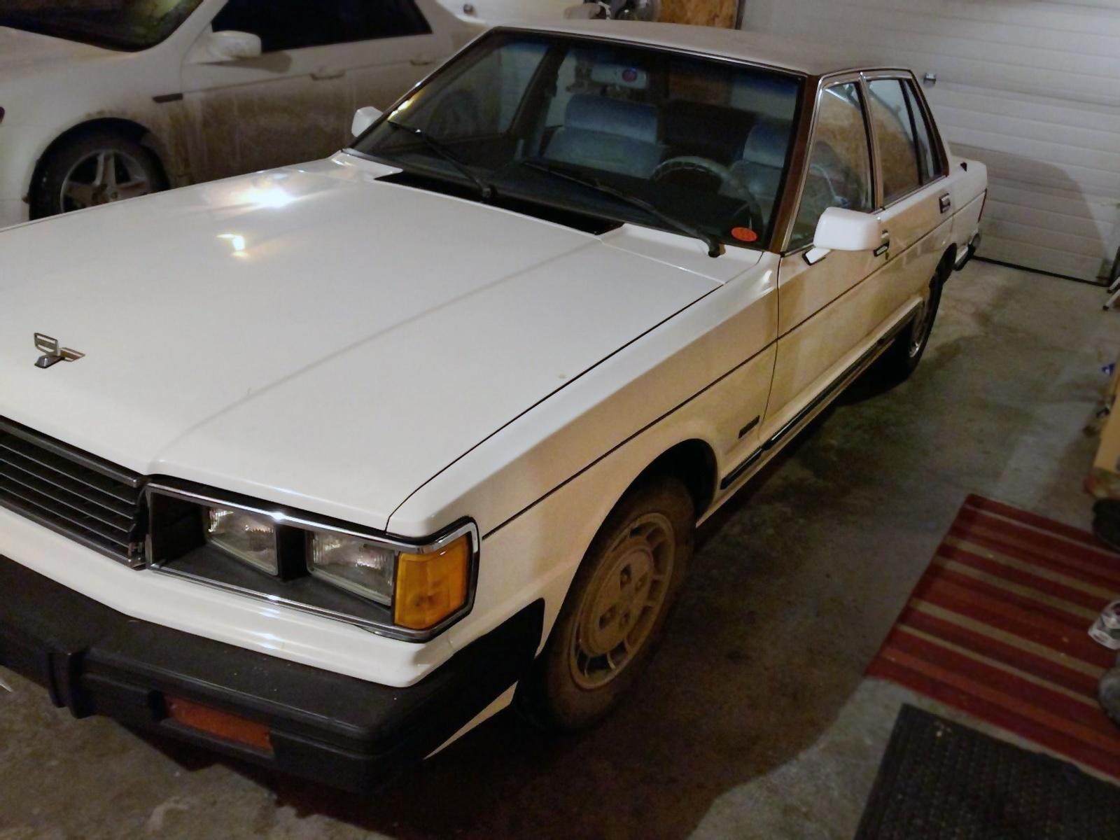 $1,673 Diesel Datsun! 1982 Datsun Maxima