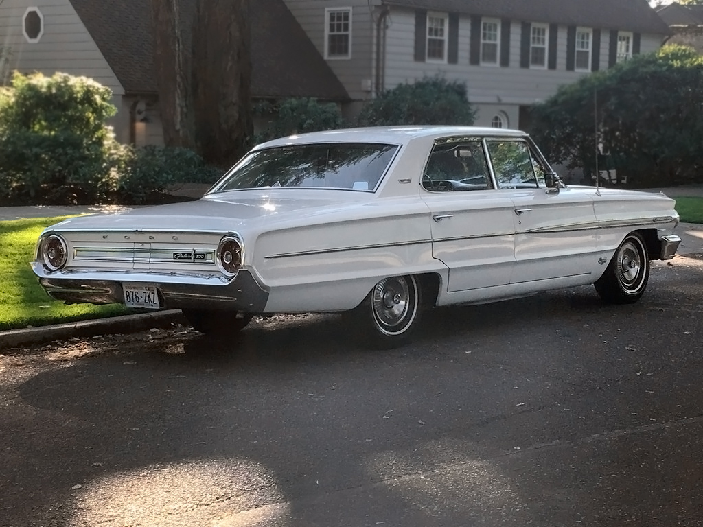 11 840 mile garage find 1964 ford galaxie 500. Black Bedroom Furniture Sets. Home Design Ideas