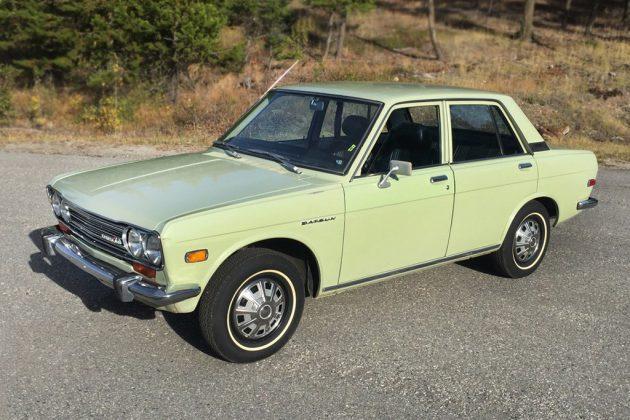 Museum Quality Original: 1972 Datsun 510