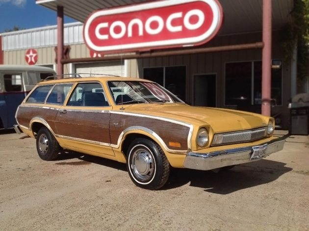 Texas Pinto: 1974 Ford Pinto Squire Wagon