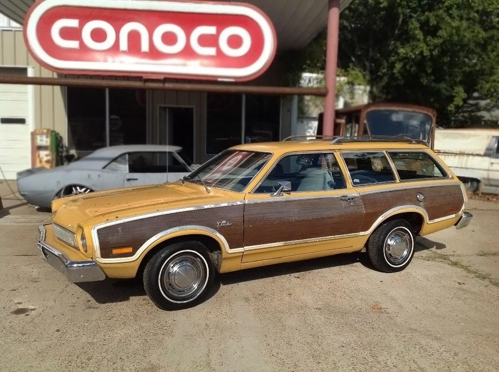 Texas Pinto 1974 Ford Pinto Squire Wagon