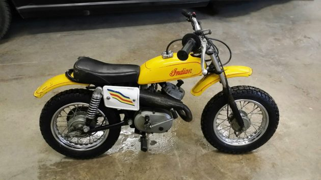 Teach Your Kids To Ride! 1969 Indian M5A Italjet