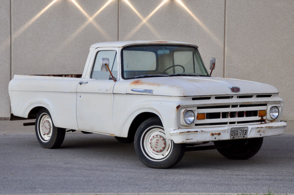 A Beautiful Body 1961 Ford F 100 Unibody