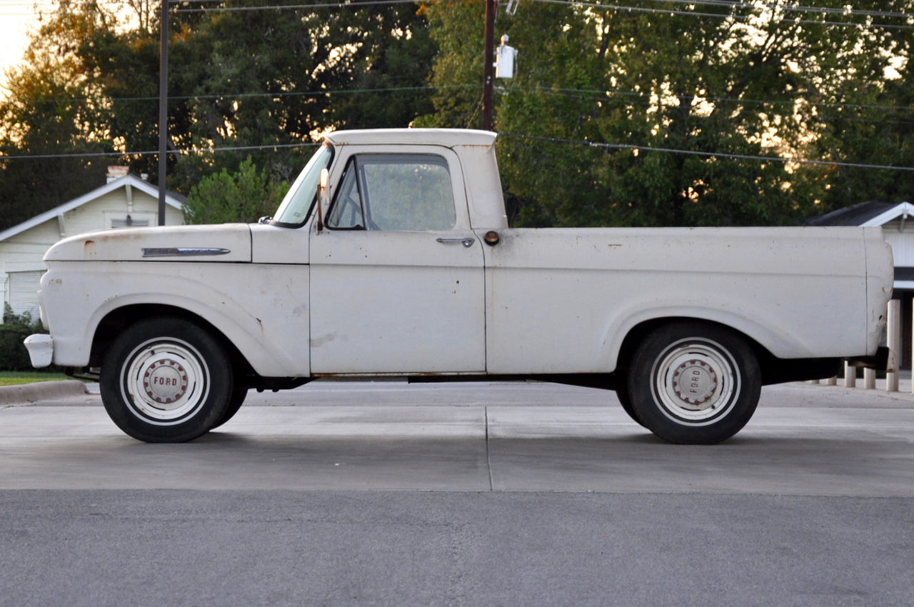 a beautiful body 1961 ford f 100 unibody. Black Bedroom Furniture Sets. Home Design Ideas