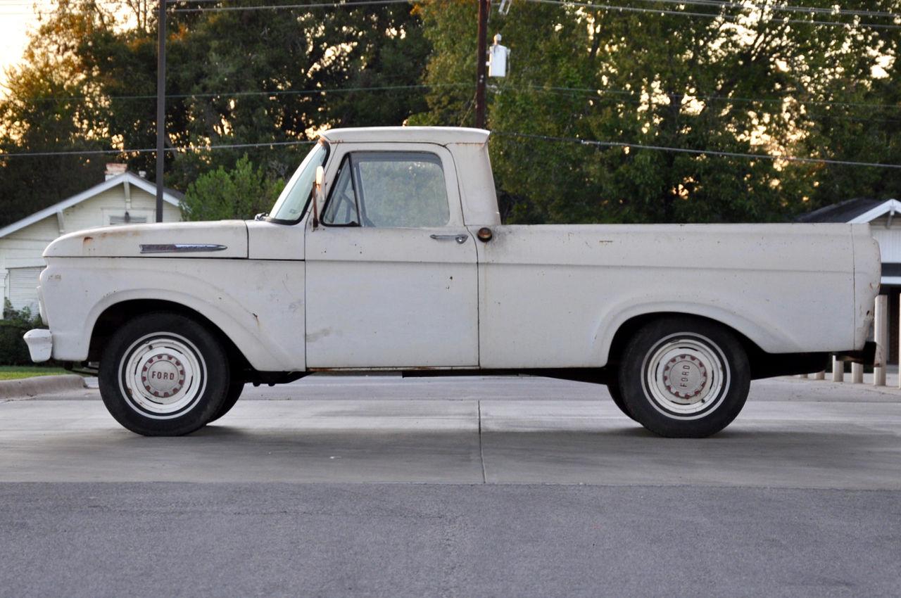 A Beautiful Body 1961 Ford F 100 Unibody