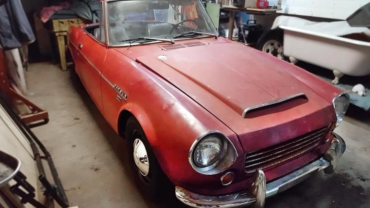 $1,850 Roadster! 1969 Datsun Sports 1600 SPL311