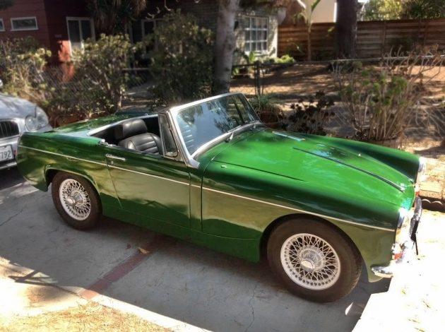 $4,500 Hollywood Midget: 1966 MG Midget Mk II