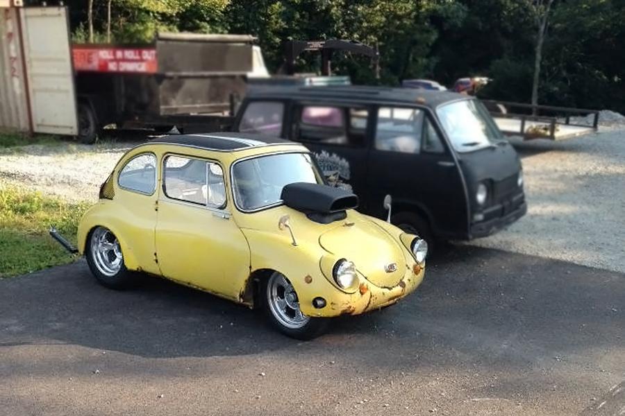 World S Smallest 1969 Subaru 360 V8