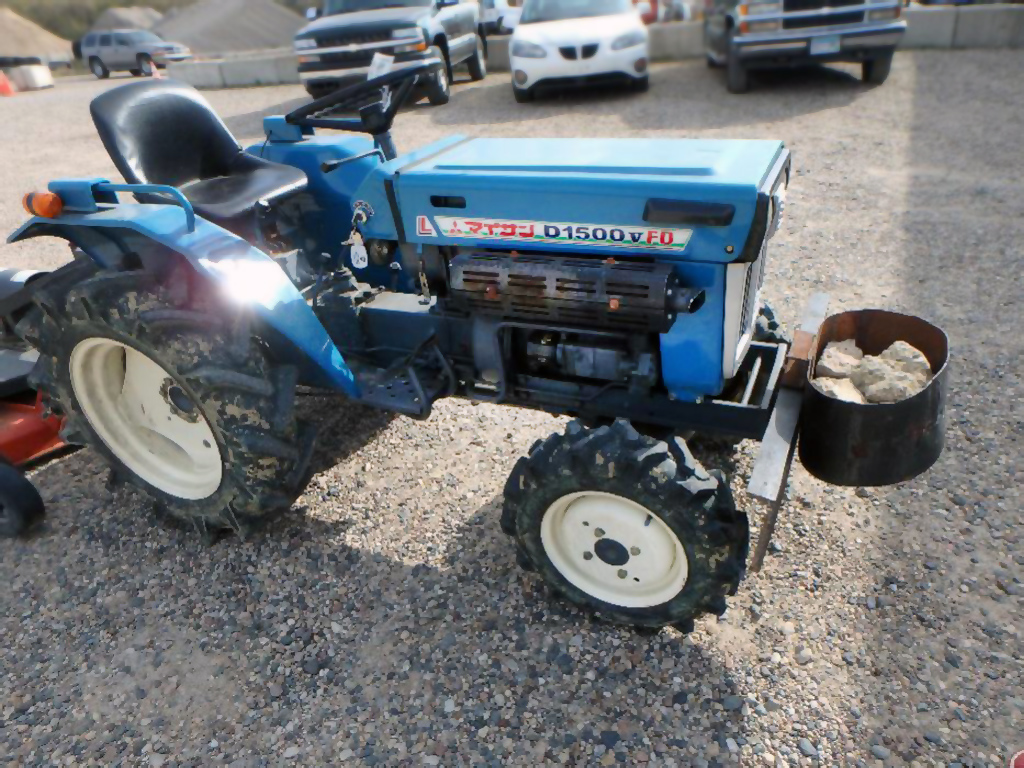1979 Ford 1500 4 Wheel Drive Tractor : Mitsubishi d wd diesel tractor