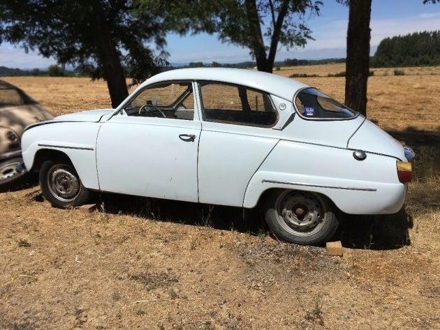 One Solid Saab: 1966 Saab 96