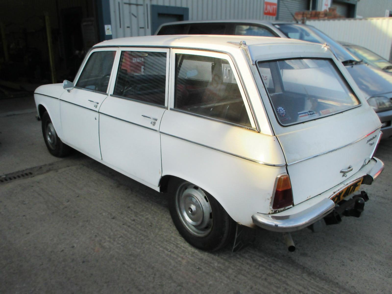 103016 Barn Finds 1968 Peugeot 204 Estate 1