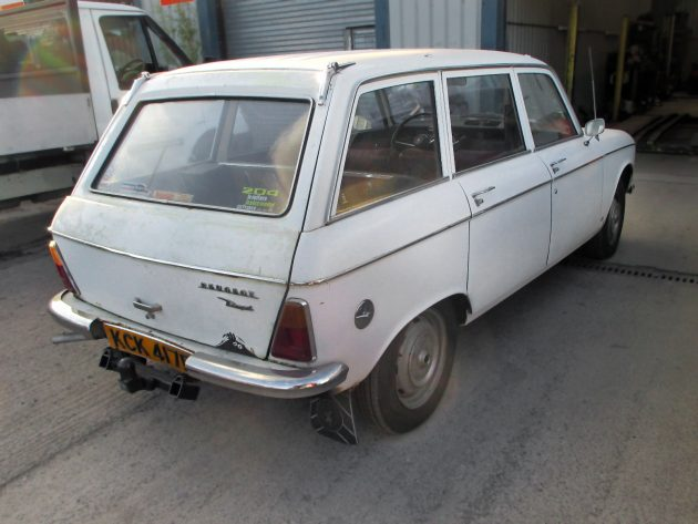 French Diesel: 1968 Peugeot 204 Estate