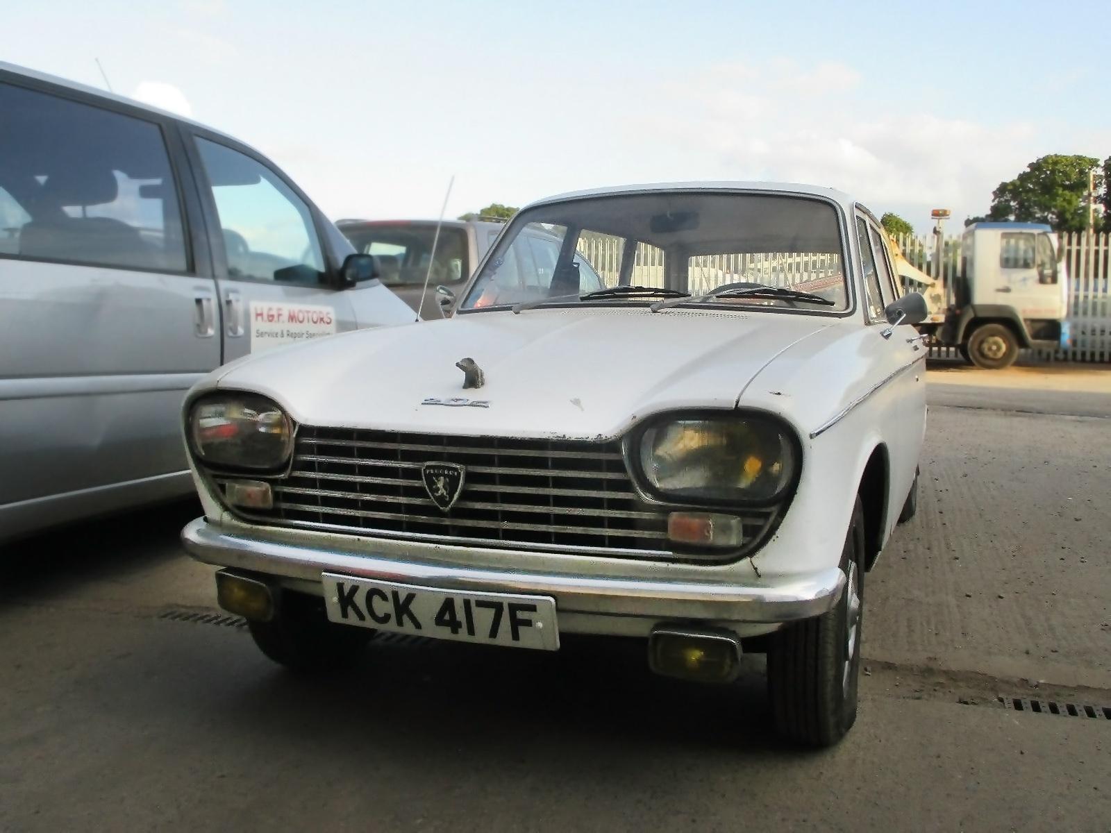 103016 Barn Finds 1968 Peugeot 204 Estate 3