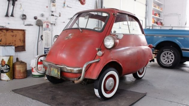 In Storage Since 1961! 1959 BMW Isetta 300