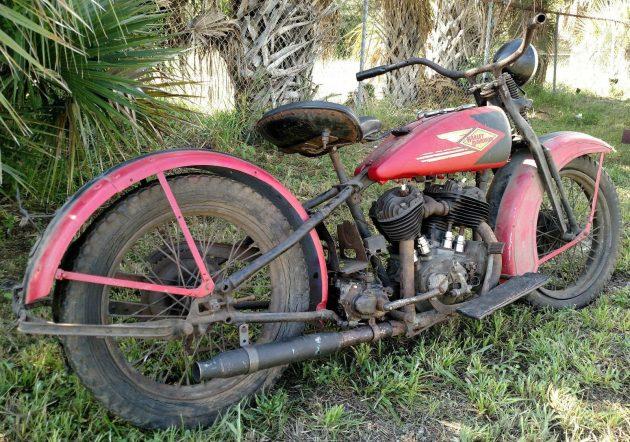 Barn Hog: 1930 Harley-Davidson VL