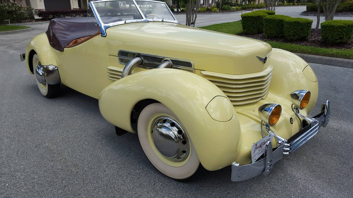 Flying Car For Sale >> Restored In The 70s: 1937 Cord Roadster