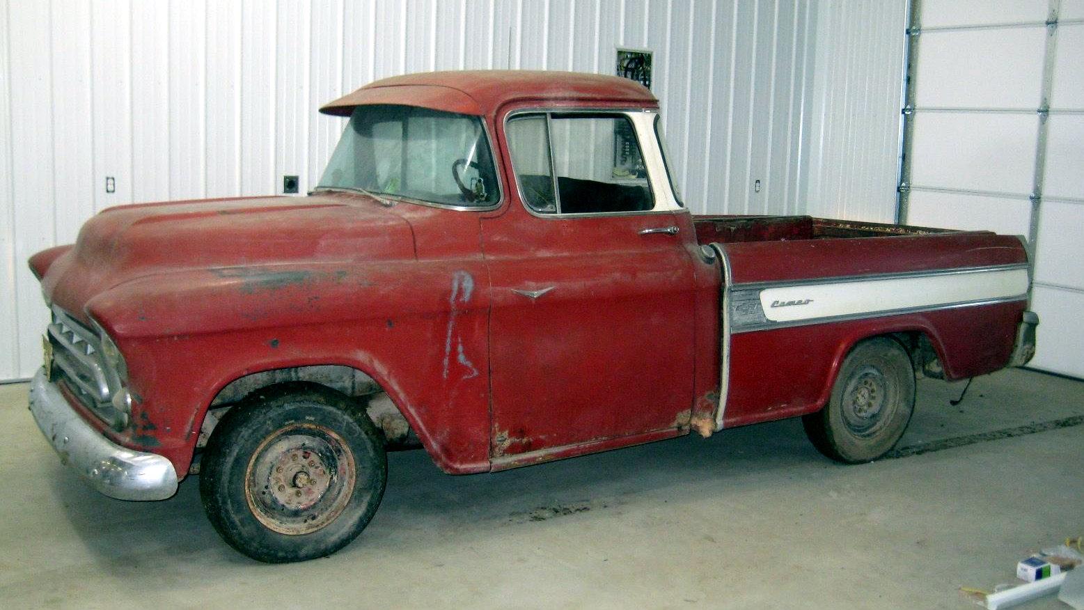 No Reserve Rarity 1957 Chevrolet Cameo Carrier