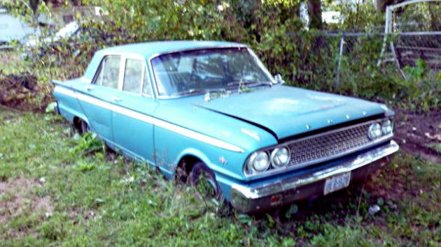 Joe S Alley Find 1963 Ford Fairlane