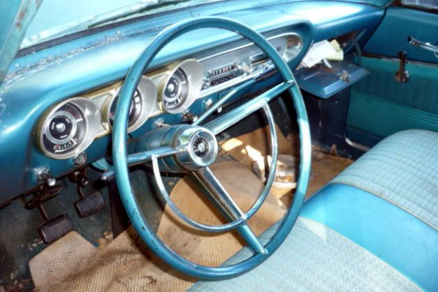 1963 Ford Fairlane 500 Interior