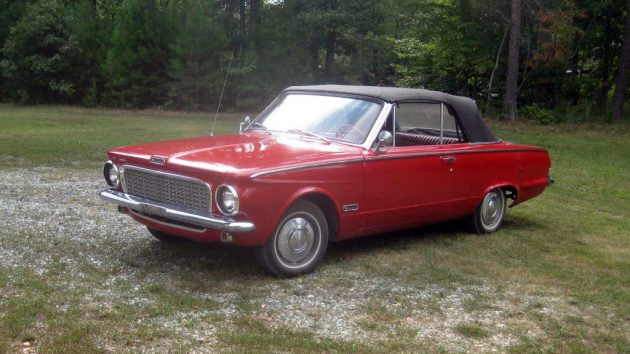 Little Red Convertible: 1963 Plymouth Valiant