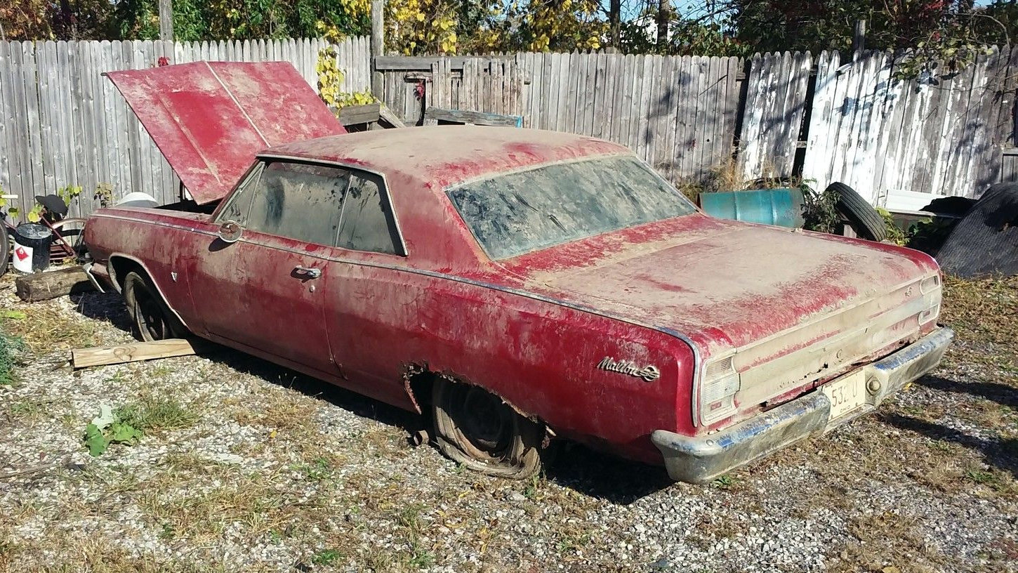 1970 Chevelle Ss Project Car For Sale >> First Year Malibu SS: 1964 Chevelle