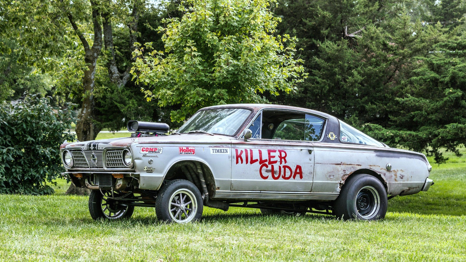 The Killer Cuda: 1966 Plymouth Barracuda