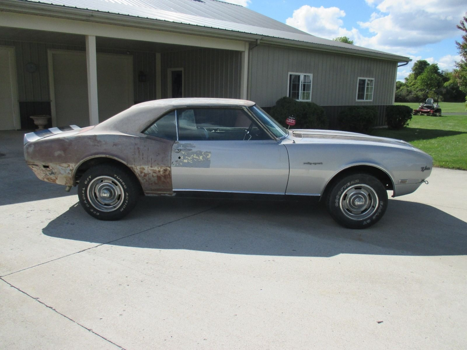 Car Auctions Ny >> Body Shop Find: 1968 Camaro Z/28