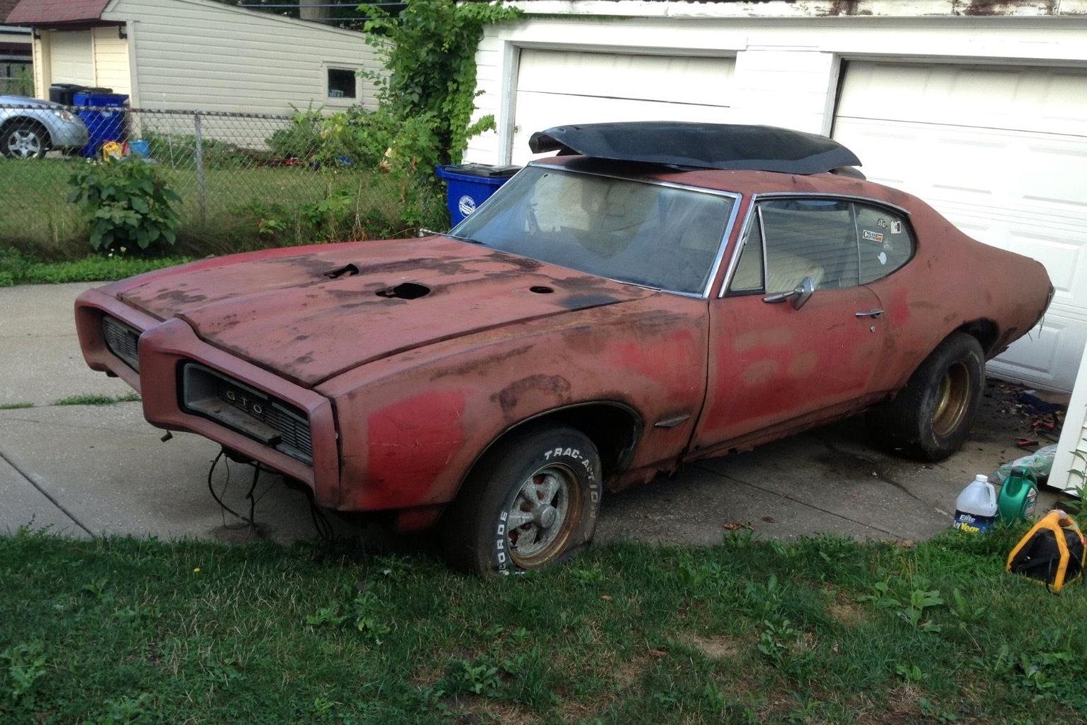 Rusty Old Goat 1968 Pontiac Gto