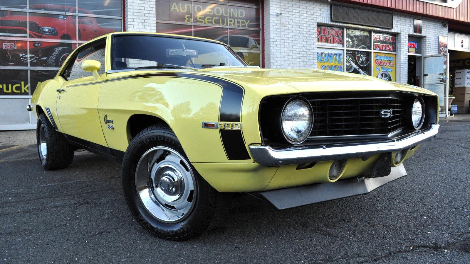 Ss Camaro 1969 Black >> Big Block Pony: 1969 Camaro SS 396