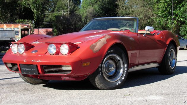 Parked For 25 Years: 1974 Corvette