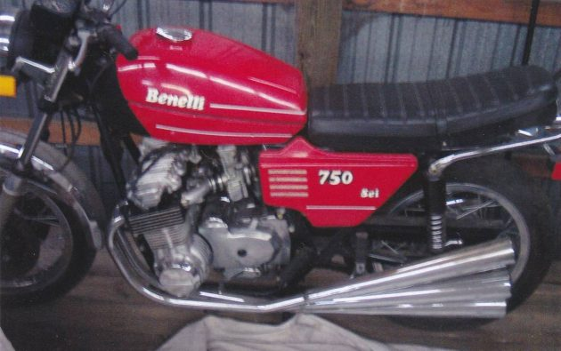 First 6-Cylinder: 1979 Benelli Sei With Zero Miles!