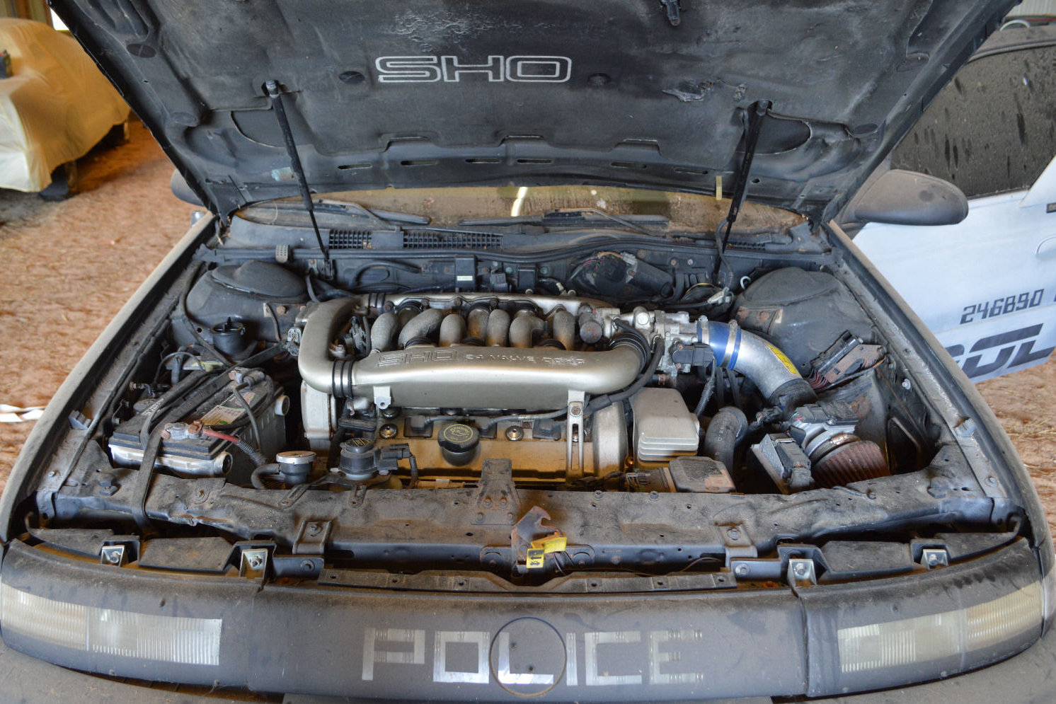 Yamaha Sho V Engine