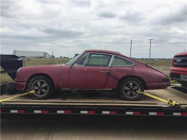 Attainable Longhood? Rusty Porsche 912