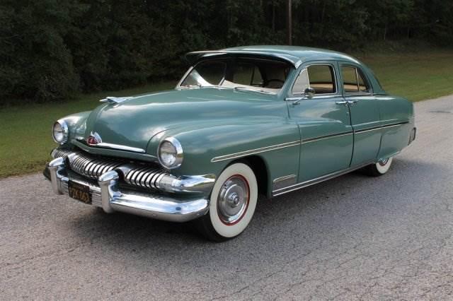 Low Mile Merc 1951 Mercury Sedan
