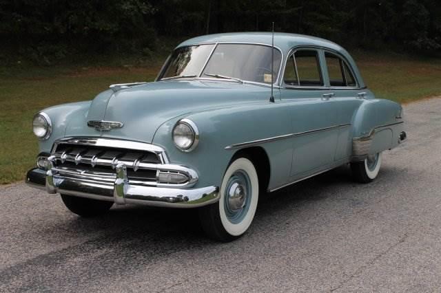 11,523 Miles: 1952 Chevrolet Styleline