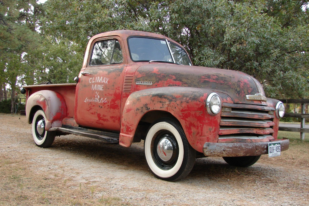 Gold Mine 1952 Chevrolet 3100