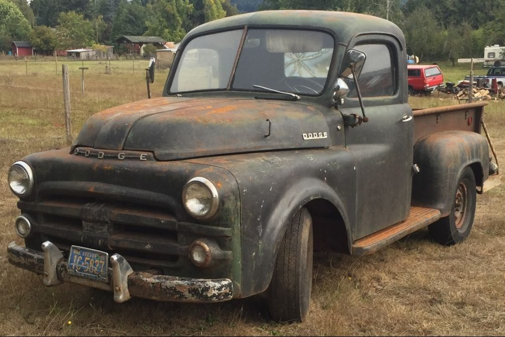 solid and cheap 1953 dodge pickup. Black Bedroom Furniture Sets. Home Design Ideas